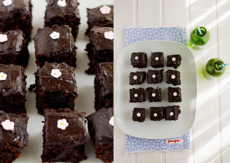 Hidden veggies chocolate cake